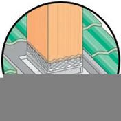 Abergement fixe en plomb avec solin en zinc naturel soudé 38x38cm - Carrelage pour sol en grès cérame décoré ULTRA dim.45x45cm coloris antrasit - Gedimat.fr