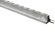 Poutrelle précontrainte béton RS 111 long.1,90m - Fronton de rive bardelis de 40 petit modèle coloris silvacane littoral - Gedimat.fr