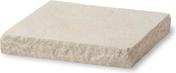 Chapeau de pilier plat LLICORELLA dim.40x40cm ép.6 cm ton pierre - Tuile BOURGOGNE LONGUE 16x38 Jacob coloris rouge ancien - Gedimat.fr
