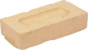 Brique pleine en terre cuite WF haut.6,5cm larg.10cm long.21cm ligne moulée main Agora coloris blanc/ivoire - GEDIMAT - Matériaux de construction - Bricolage - Décoration