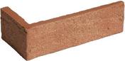 Plaquette d'angle en terre cuite long.22cm larg.10,5cm haut.6,5cm ép.1,7cm ligne structurée coloris Pin - GEDIMAT - Matériaux de construction - Bricolage - Décoration