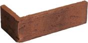 Plaquette d'angle en terre cuite long.22cm larg.10,5cm haut.6,5cm ép.1,7cm ligne structurée coloris Sequoia - GEDIMAT - Matériaux de construction - Bricolage - Décoration