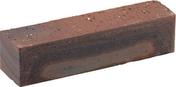 Brique mulot plein en terre cuite long.22cm dim.5,4x5,4cm ligne étirée flammée coloris coq de bruyère - Poutre en béton précontrainte PSS LEADER section 20x20cm long.6,20m - Gedimat.fr