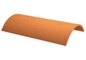 Faîtière de finition pour tuiles TERREAL coloris panaché foncé - Poutre VULCAIN section 25x55 cm long.5,00m pour portée utile de 4,1 à 4,60m - Gedimat.fr