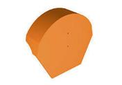 Fronton de rive équerre pour faîtière cylindrique 40cm TERREAL coloris castelviel - Coude laiton brut équerre à raccord bicône pour tube cuivre diam.10mm avec écrou diam.12x17mm avec lien 1 pièce - Gedimat.fr