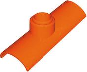 Tuile à douille CANAL LANGUEDOCIENNE diam.100mm coloris castelviel - Coude laiton égal femelle 15x21 pour raccord tuyau diam.20mm - Gedimat.fr