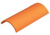 Arêtier de ventilation pour tuiles ROMANE-CANAL coloris vieilli terroir - Mortier spéciale couverture hydrofugé WEBER.CEL TUILE sac de 25kg teinte gris clair - Gedimat.fr