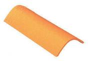 Faîteau pour tuiles ROMANE-CANAL coloris rose Charentais - Mamelon laiton 280 égal mâle mâle diam.20x27mm chromé en vrac - Gedimat.fr