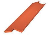 Tuile de rive bardelis droite DC12 coloris castelviel - Rencontre 4 départs pour faîtage TERREAL coloris tabac - Gedimat.fr
