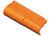 Rive ronde gauche ROMANE-CANAL coloris vieilli terroir - Doublage isolant plâtre + polystyrène PREGYSTYRENE TH32 ép.10+110mm larg.1,20m long.2,60m - Gedimat.fr