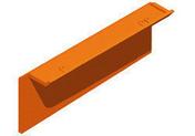 Tuile de rive verticale gauche TBF coloris panaché atlantique - Poutre VULCAIN section 25x65 cm long.7,00m pour portée utile de 6,1 à 6,60m - Gedimat.fr