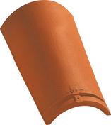 Faîtière/Arêtier pureau variable à emboîtement coloris Saintonge - Brosse coudée sur plat professionnelle fibres soies manche bois larg.30 mm en vrac 1 pièce - Gedimat.fr