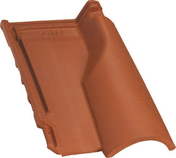 Tuile châtière de ventilation AQUITAINE POUDENX coloris pastel - Tuile à douille CANAL diam.150mm lc coloris garance - Gedimat.fr