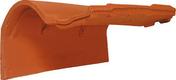 Tuile de rive à rabat droite à emboîtement modèle aquitaine pour MEDIANE GELIS coloris paysage - Poutre VULCAIN section 20x50 cm long.4,50m pour portée utile de 3,6 à 4,10m - Gedimat.fr