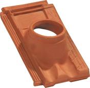 Tuile à douille MARSEILLE POUDENX diam.120mm coloris rouge - Radiateur sèche-serviettes STENDINO 750W - Gedimat.fr