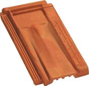 Tuile de ventilation MARSEILLE coloris brun - Brique terre cuite POROTHERM GFR25 base ép.15cm haut.29,9cm long.50cm - Gedimat.fr