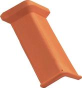 Faîtière/Arêtier angulaire à emboîtement MARSEILLE POUDENX coloris rouge - Carrelage pour mur en faïence mate TREND larg.25cm long.50cm coloris gris - Gedimat.fr