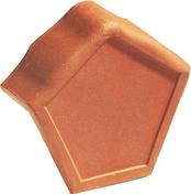 Fronton pour faîtière angulaire à emboîtement MARSEILLE POUDENX coloris rouge - Poutrelle treillis RAID long.béton 10.20m pour portée libre 10.15m - Gedimat.fr