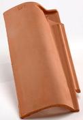 Rive ronde gauche à emboîtement CANAL-S coloris paysage - Bloc béton de chaînage horizontal ép.9cm haut.19cm long.1,60m - Gedimat.fr