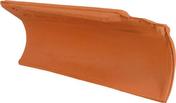 Rive ronde individuelle droite à emboîtement MERIDIONALE/AQUITAINE coloris Saintonge - Brosse coudée sur plat professionnelle fibres soies manche bois larg.30 mm en vrac 1 pièce - Gedimat.fr