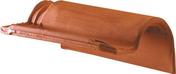 Tuile de rive à rabat droite à emboîtement AQUITAINE POUDENX coloris pastel - Panneau de Particule Surfacé Mélaminé (PPSM) ép.19mm larg.2,07m long.2,80m Blanc Yukon finition Perlé - Gedimat.fr
