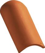 About d'arêtier CANAL coloris rouge - Coude à segment émaillé NM 90° diam.130m - Gedimat.fr