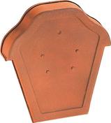 Fronton pour faîtière losangée à recouvrement coloris flammé rustique - Poutre en béton précontrainte PSS LEADER section 20x20cm long.5,10m - Gedimat.fr