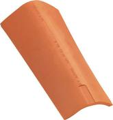 Faîtière à sec sans emboîtement POUDENX coloris rose - Bois Massif Abouté (BMA) Sapin/Epicéa traitement Classe 2 section 60x120 long.9,50m - Gedimat.fr