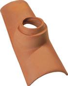 Tuile à douille pour CANAL GELIS et CANAL 230-50 diam.100mm coloris rouge - Mortier spéciale couverture hydrofugé WEBER.CEL TUILE sac de 25kg teinte gris clair - Gedimat.fr