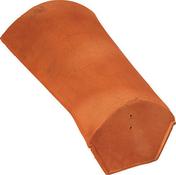About de faitière à sec petite ouverture coloris rouge - Coude à segment émaillé NM 90° diam.130m - Gedimat.fr