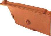 Rive individuelle de faîtage gauche à recouvrement MARSEILLE POUDENX coloris rouge - Carrelage pour mur en faïence mate TREND larg.25cm long.50cm coloris gris - Gedimat.fr