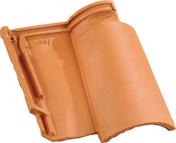 Tuile 2/3 pureau AQUITAINE coloris Saintonge - Carrelage pour sol extérieur en grès cérame émaillé LOURMARIN larg.30cm long.60cm coloris gris - Gedimat.fr