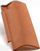 Rive ronde droite à emboîtement CANAL-S coloris paysage - Bloc béton de chaînage horizontal ép.9cm haut.19cm long.1,60m - Gedimat.fr