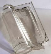 Tuile de verre ROMANE SANS - Porte d'entrée Aluminium GEOD avec isolation totale de 140mm gauche poussant haut.2,00m larg.90cm laqué gris - Gedimat.fr