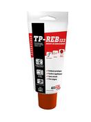 Enduit de rebouchage en pâte prêt à l'emploi TP-REB122 tube 330g ton blanc - About d'arêtier grand modèle à emboîtement coloris vieilli nuance sur fond rouge - Gedimat.fr