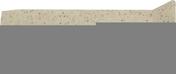 Angle sortant carrelage pour sol en gr�s c�rame pleine masse UNI haut.3cm long.10cm coloris beige ivory - Carrelages sols int�rieurs - Cuisine - GEDIMAT