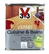 Vernis pièces humides EXPERT Cuisines & Bains V33 bidon de 0,5 litre chêne doré satiné - Gedimat.fr
