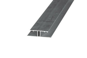 Profil de jonction pour toiture de véranda ép.16mm long.4,00m coloris alu - Plaque de polycarbonate claire ép.16mm long.4,00m larg.0,98m - Gedimat.fr