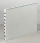 Carreau de plâtre standard alvéolé PF3 ép.7cm larg.50cm long.66,6cm - Carreau de plâtre standard plein PF3 ép.10cm larg.50cm long.66,6cm - Gedimat.fr