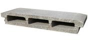 Entrevous béton ép.8cm larg.53cm long.24cm - Poutrelle treillis renforcée RAID long.béton 2.30m portée libre 2.25m - Gedimat.fr