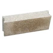 Bloc béton plein NF B120 ép.20cm haut.20cm long.40cm - Asperseur métal TEC 100 - Gedimat.fr