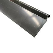 Bande de rive ou d'astragale zinc prépatiné développé 166mm ép.0,65mm long.2m - Rives - Faîtages - Couverture & Bardage - GEDIMAT