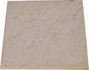 Dalle DELPHINE en pierre reconstituée 50x50cm ép.2,5cm coloris pierre - Porte d'entrée Aluminium MUSIA avec isolation totale de 160mm gauche poussant haut.2,15m larg.90cm laqué blanc - Gedimat.fr