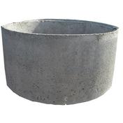 Anneau de puits b�ton � embo�tement pleine diam.int.90cm haut.50cm - Couvercle de buse b�ton diam.int.1m avec trou de visite diam.50cm - Gedimat.fr