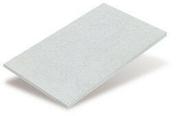 Plaque de construction fibre-ciment plane ETERBOARD long.2,52m larg.1,24m épais.6mm teinte naturelle - Rive rabat sous faitière gauche à emboîtement 2/3 pureau MEDIANE coloris terroir - Gedimat.fr