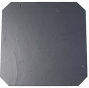 Ardoise ARTOIT NATURA dim.40x40cm N°1 coloris noir - Cutter 18mm corps métallique gainé plastique rouge - Gedimat.fr