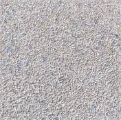 Dalle gravier lavé petit grain ép.3,5cm dim.40x40cm coloris armor fond blanc - Tuile de rive bardelis droite ROMANE TBF coloris brun rustique - Gedimat.fr