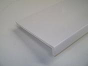 Planche de rive RIVECEL 9 ép.9mm haut.15cm long.5m coloris blanc - Planches de rives - Sous-faces - Couverture & Bardage - GEDIMAT