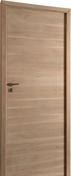 Bloc-porte EPURE en chêne haut.2,04m larg.73cm gauche poussant finition ivoire brossé - Feuille de stratifié HPL avec Overlay ép.0.8mm larg.1,30m long.3,05m décor Bouleau de Sibérie finition Velours bois poncé - Gedimat.fr