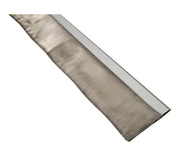 Solin plomb plissé long.2m larg.16cm coloris gris/sable - Solins - Abergements - Couverture & Bardage - GEDIMAT
